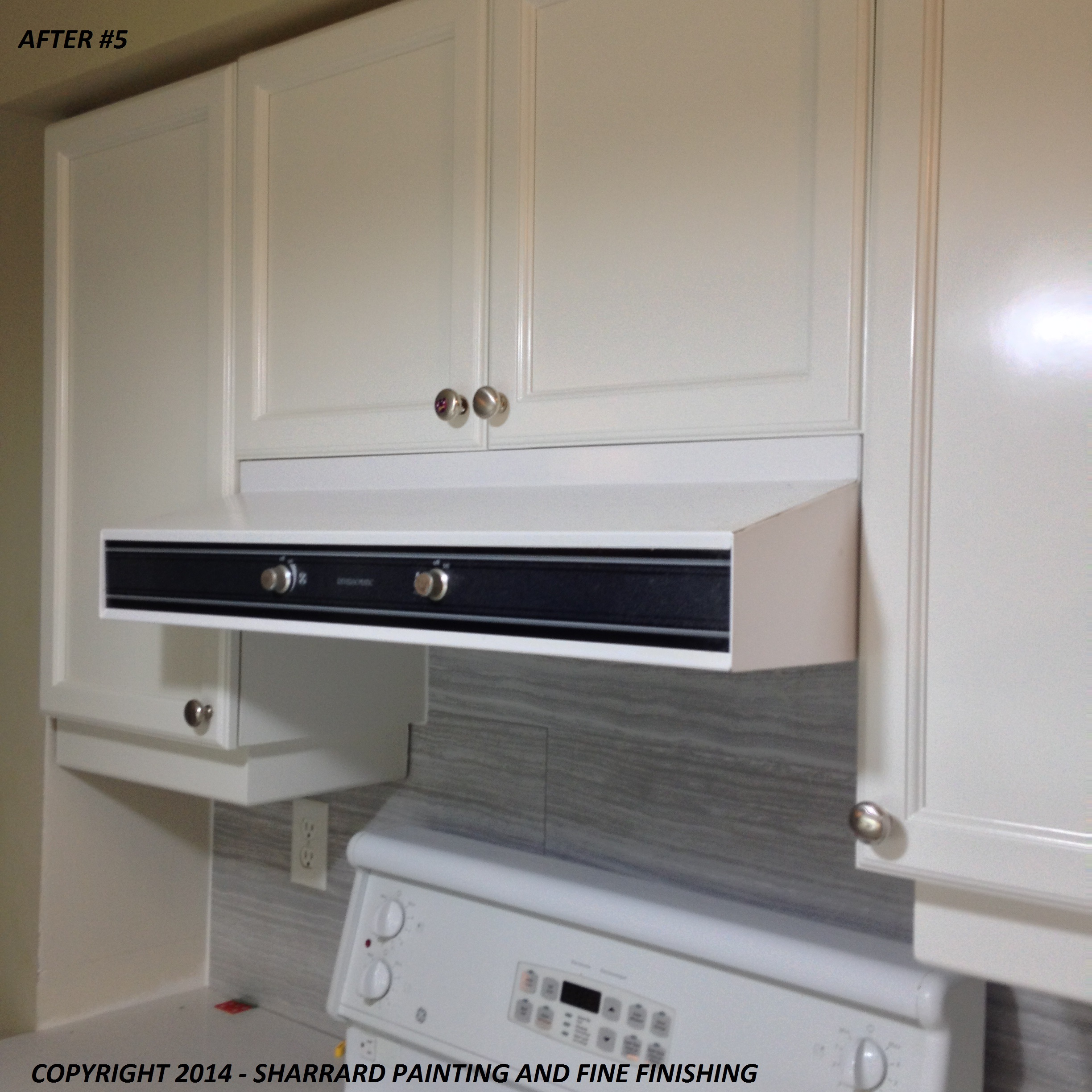 3 Rean Drive Kithcen Cabinet Painting After 5