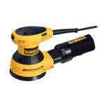 Variable Speed Orbital Sander by Dewalt - approx $100 - variable speeds and dust collector (that connects to a vacumn hose)