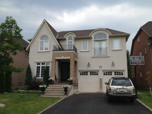 After - Exterior Painting, Oakville