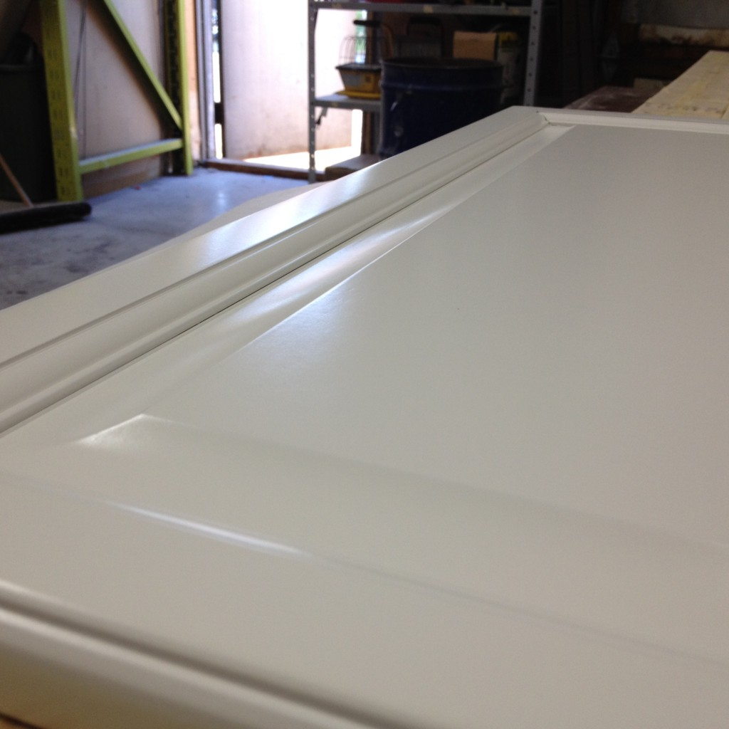 Cloud White Semi Gloss - Refinished Cabinet Door