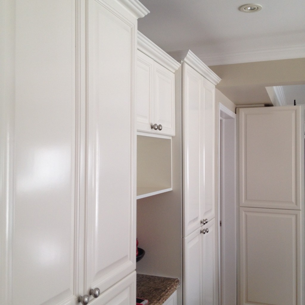 Spray Painted Kitchen Cabinets Oc29 Floral White Classic
