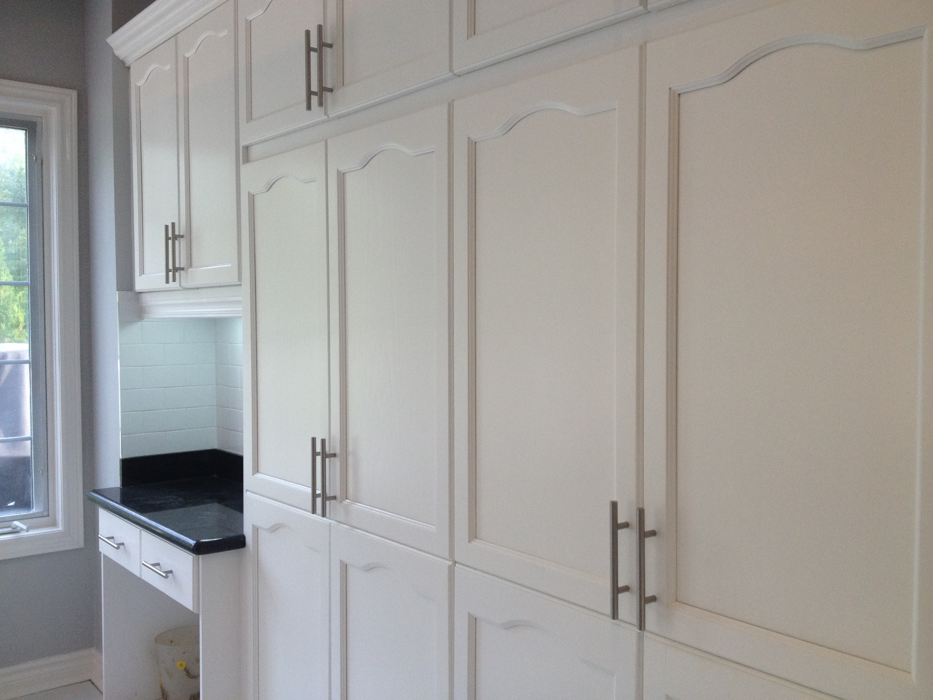 how to spray paint kitchen cabinets white spray painted oak cabinetry cabinet refinishing spray 9578