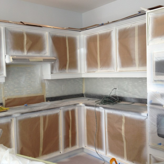 kitchen cabinets spray paint professionally painters paint reviews and how to paint guides 21212