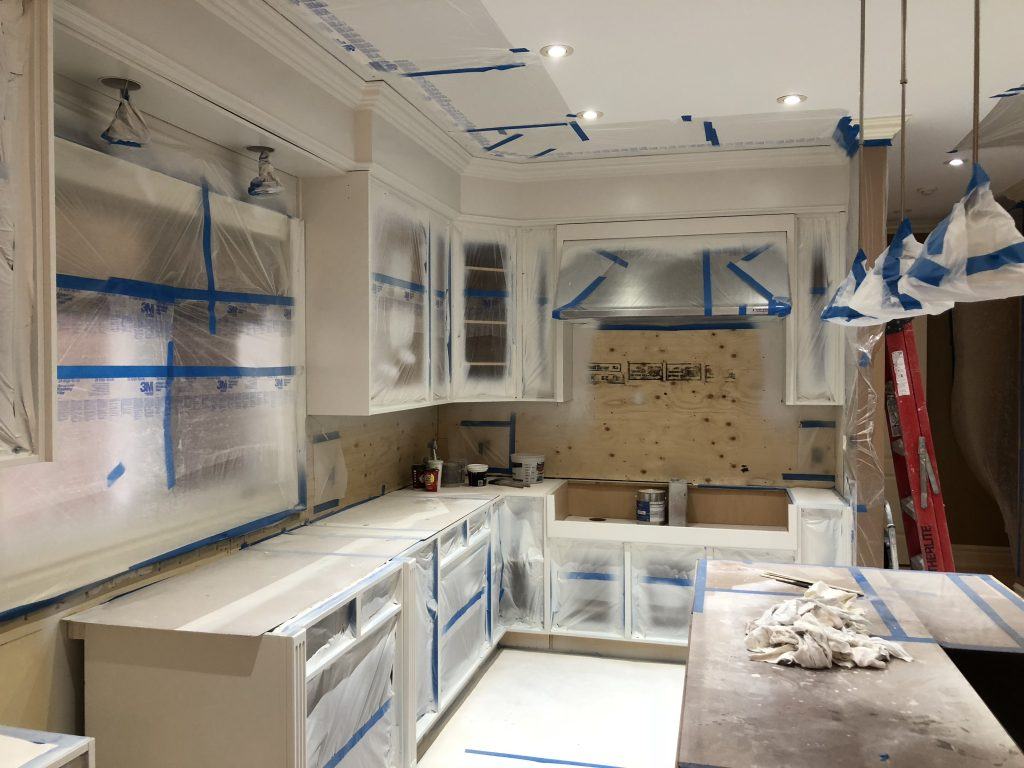 Kitchen Cabinet Painting, Spray Painting, Refinishing and ...